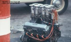 Riverside 1975 Chaparral spare engine built by Franz Weis