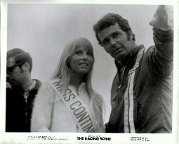 Janes Garner with Majken Kruse 1969  Miss Continental race queen
