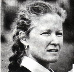 Joan Clayton Team Manager
