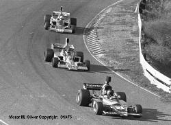 Jon Woodner Talon MR1A #91  Tuck Thomas Lola T332 #88  Vern Schuppan Eagle #48